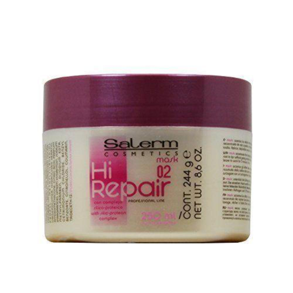 Salerm Hi Repair Mask 8.6 oz W/Free Nail File.