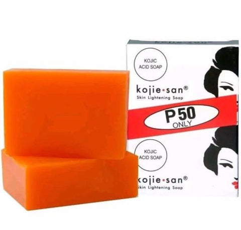 Original Kojie San Skin Lightening Soap, 65g bar-2 Pack