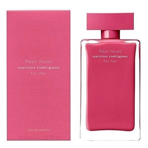 Narciso Rodriguez For Her Fleur Musc Perfume 3.3 oz EDP Spray for Women