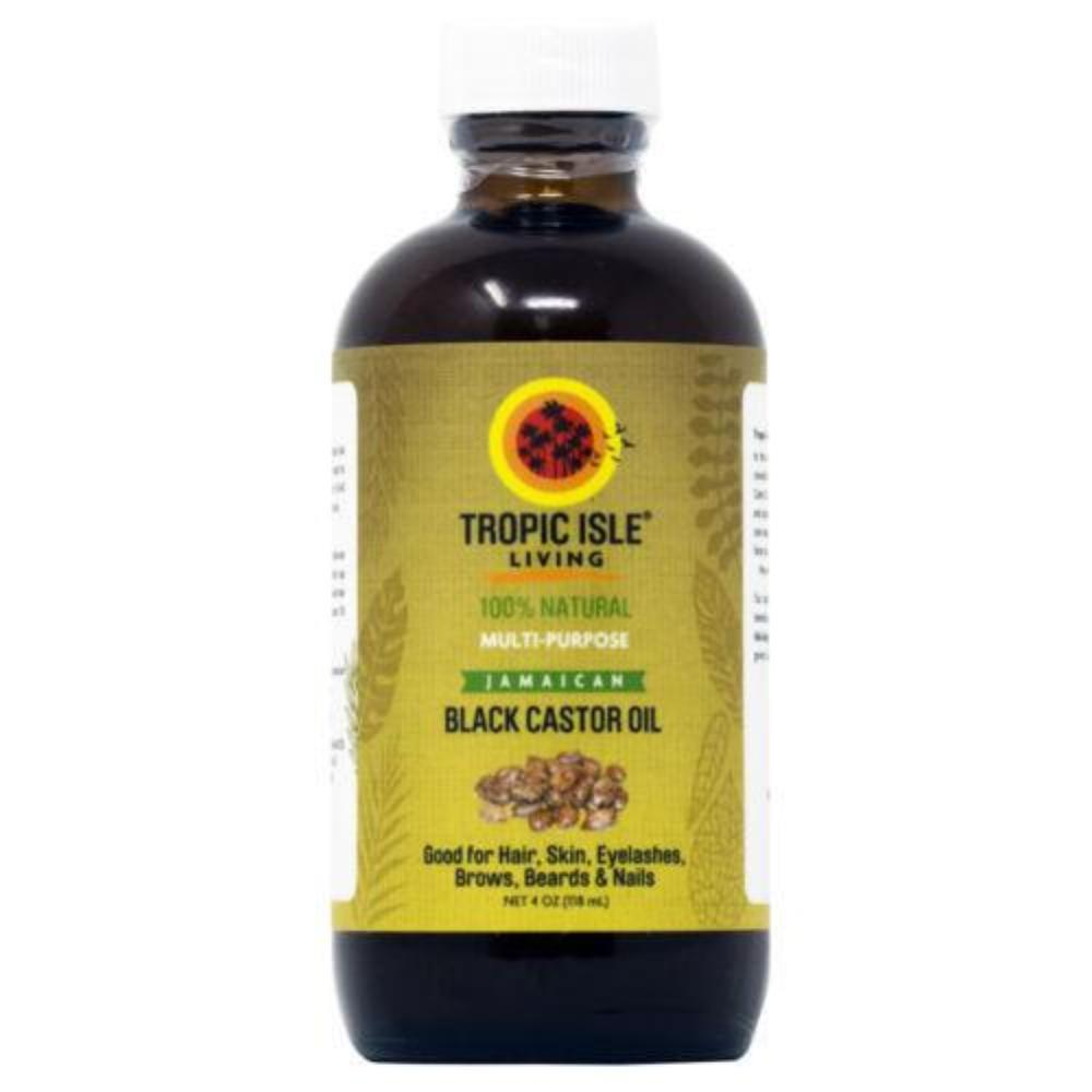 Tropic Isle Living Jamaican Black Castor Oil 4oz /w Free Applicator - Big Sale!!