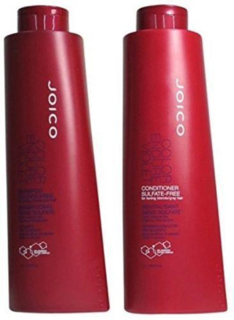 Joico Color Endure Violet Sulfate Free Shampoo and Conditioner 33.8 oz/Liter Duo