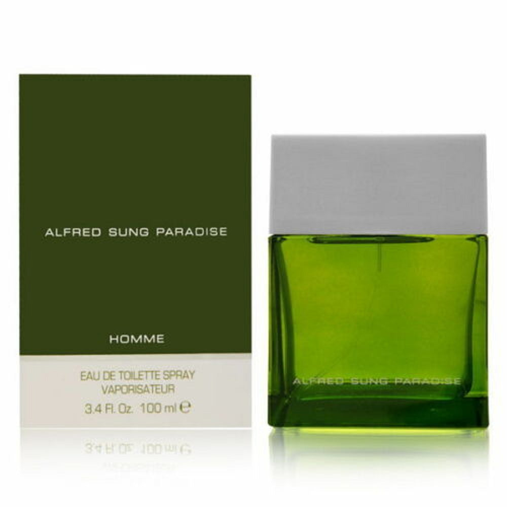 Paradise by Alfred Sung For Men 3.4 Oz Eau de Toilette Spray