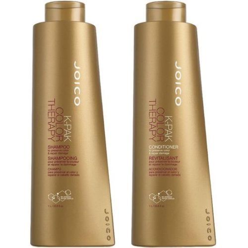 Joico K Pak Color Therapy Shampoo and Conditioner Liter Size Duo 1 L/33.8 fl....