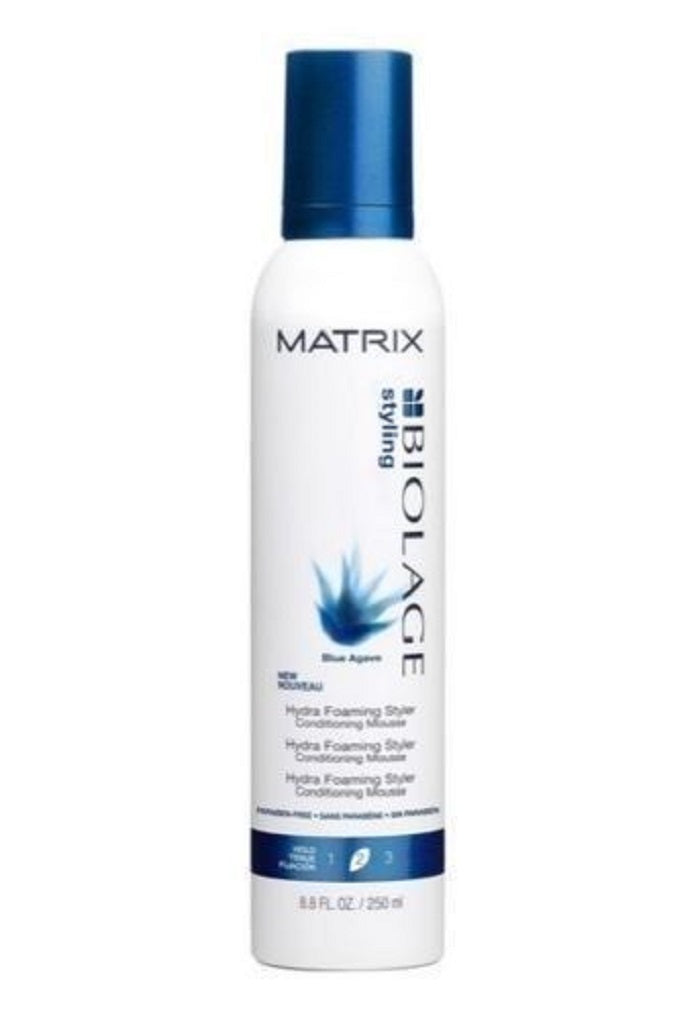 Matrix Biolage Blue Agave Hydra Foaming Styler 8.25 Oz  Dented