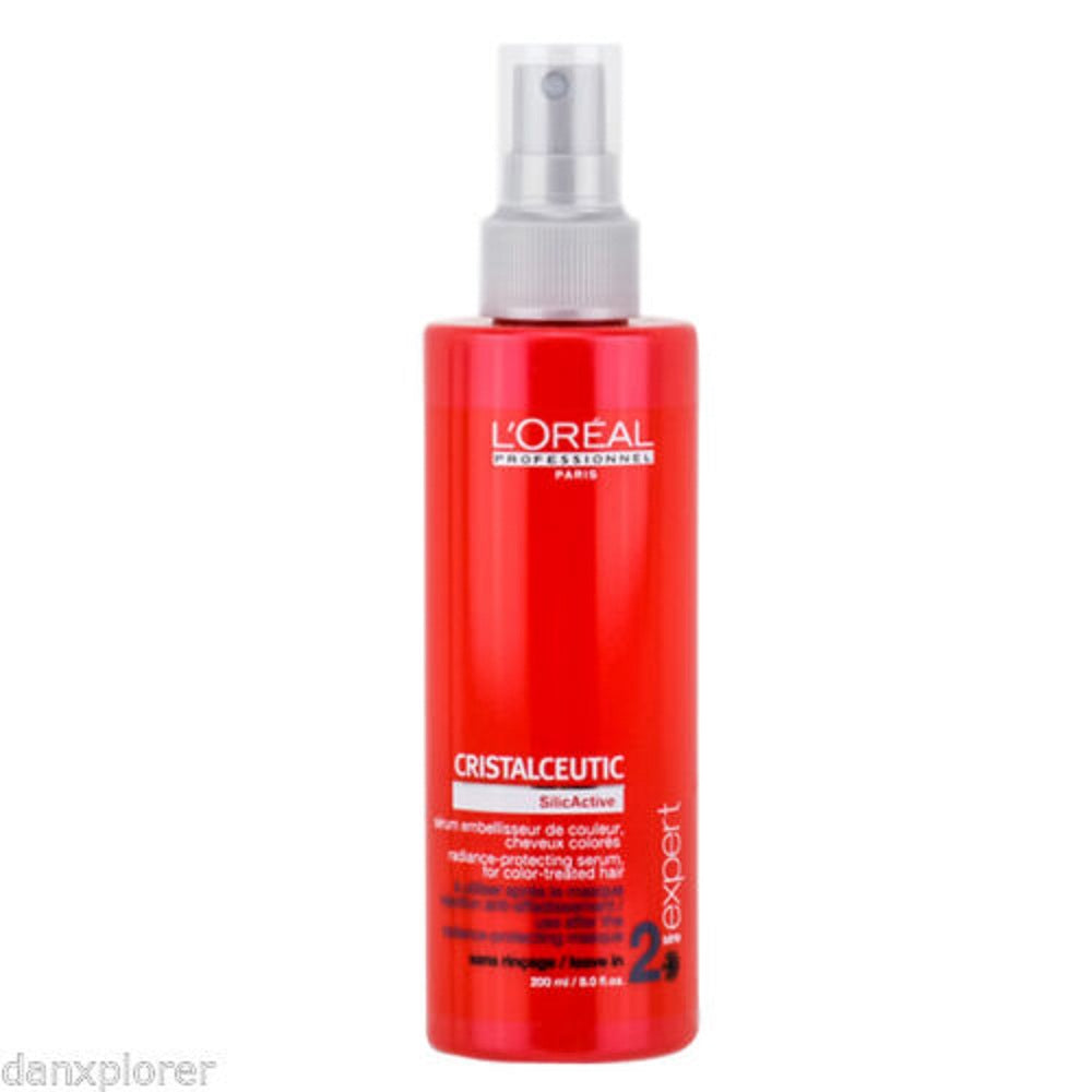 L'OREAL PROFESSIONNEL CRISTALCEUTIC RADIANCE-PROTECTING SERUM 8 oz / 200 ml