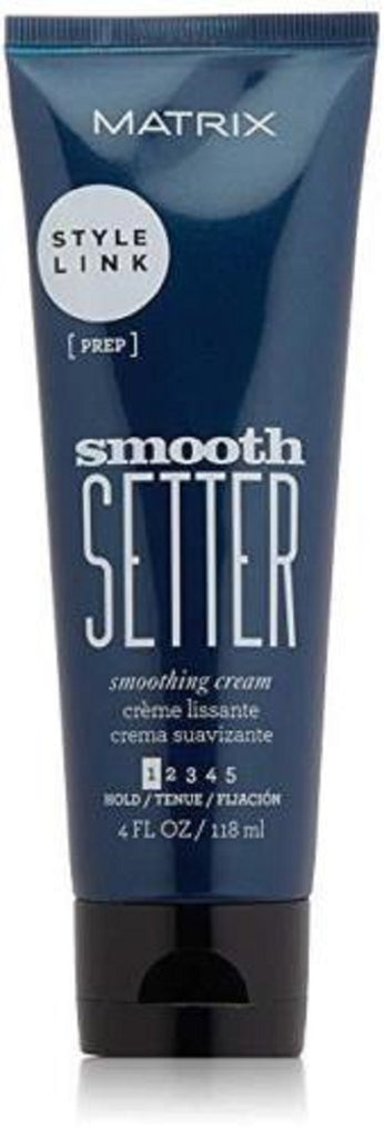 Matrix Style Link Smooth Setter Smoothing Cream For Frizzy Hair  4 Fl. Oz