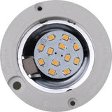 LED lamp in downlight fixture