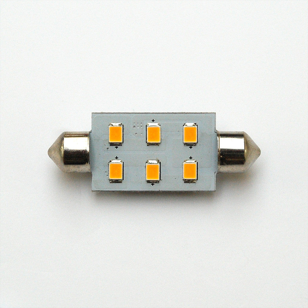 42mm 6 SMD 2835 High Output LED Festoon Lamp