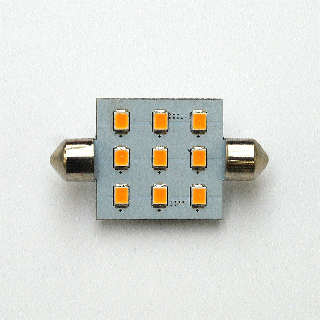 42mm 9 SMD 2835 High Output LED Festoon Lamp