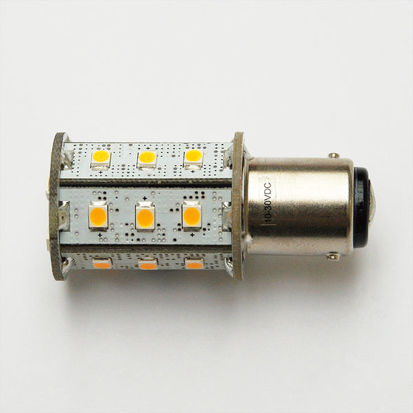 Warm White BA15D 24 SMD 2835 High Output LED Lamp