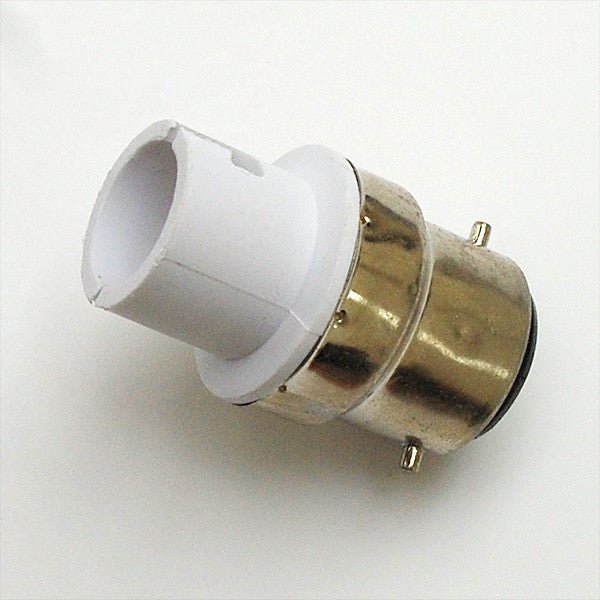 BA22 to BA15D Lamp Adaptor