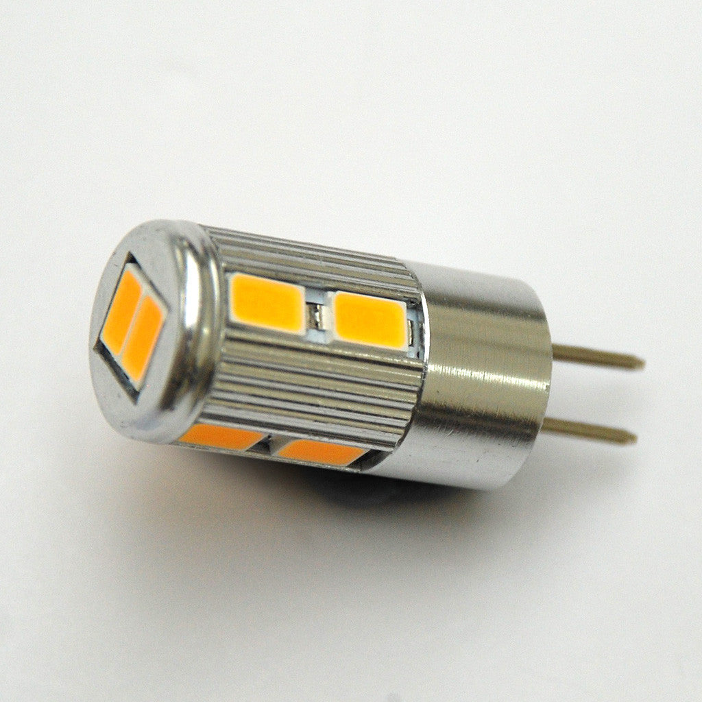 Warm White G4 10 SMD 3560 High Power Bi-Pin LED Tower Lamp