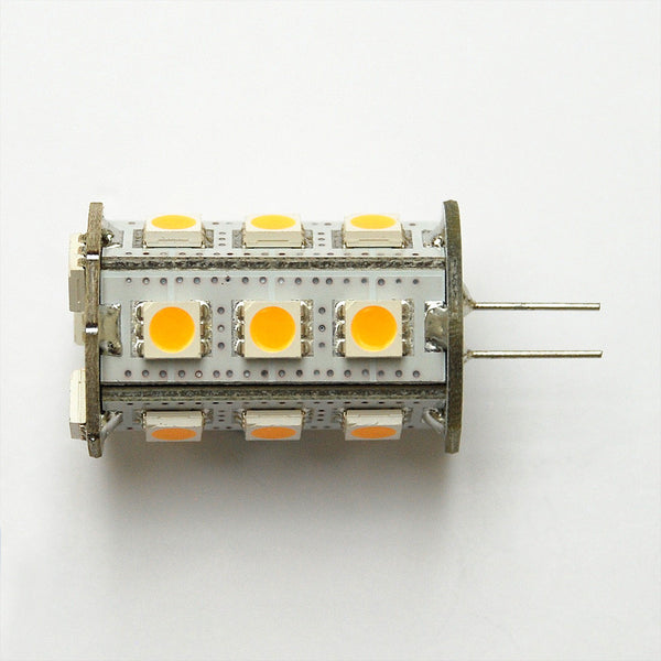 Warm White G4 18 SMD 5050 Bi-Pin LED Tower Lamp
