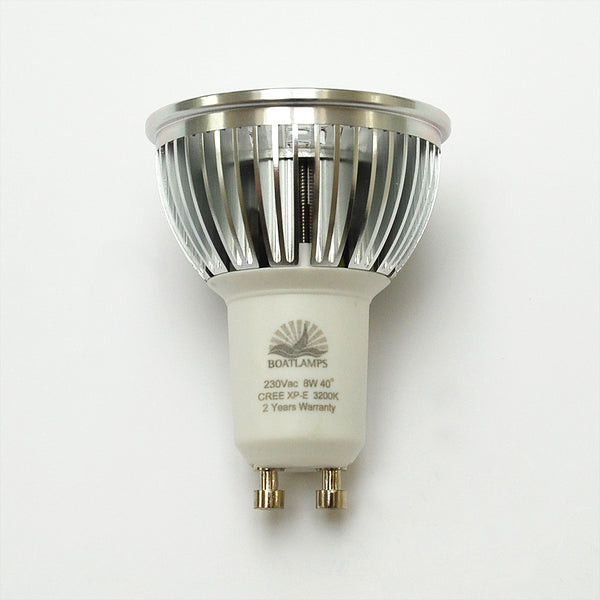 50w Gu10 Led Replacement: GU10 6W Cree LED Lamp 50W Halogen Replacement: 230V, 40
