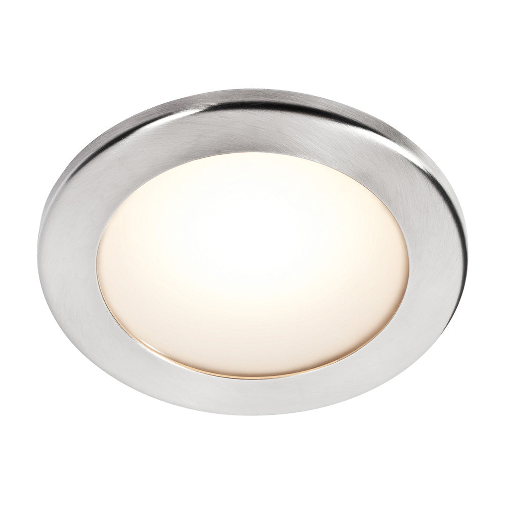 Bcm orlando a75 recessed led down light polished stainless steel bezel