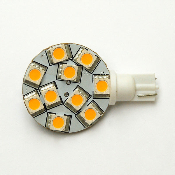 T10 10 SMD 5050 LED Wedge Lamp