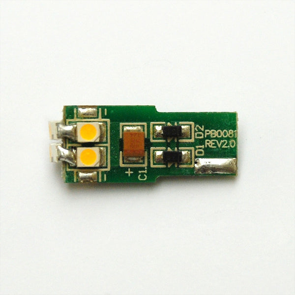 T10 6 SMD 3528 LED Wedge Lamp