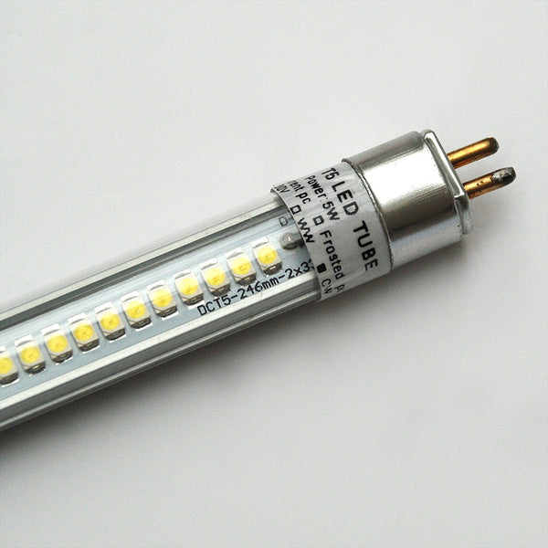 T5 LED Tube Replacement Lamp For 300mm / 12in Fluorescent
