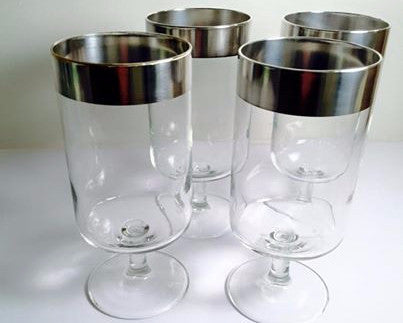 "Dorothy Thorpe Allegro Glasses 6.5"" (Set of 4)"