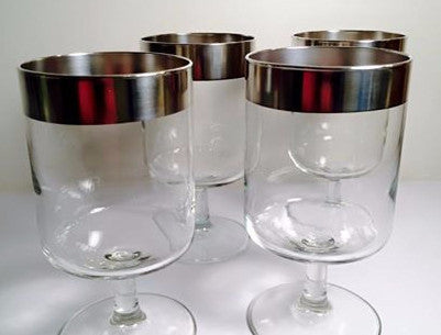"Dorothy Thorpe Allegro Glasses 5.5"" (Set of 4)"