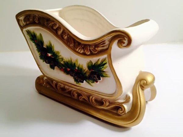 Napcoware - Vintage Sled With Garland