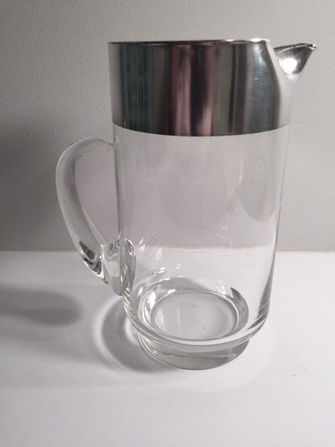 Dorothy Thorpe Sterling Silver Band/Allegro Pitcher