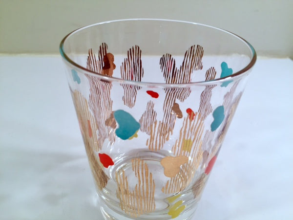 Federal Glass Mid-Century Retro Shot Glass (1)