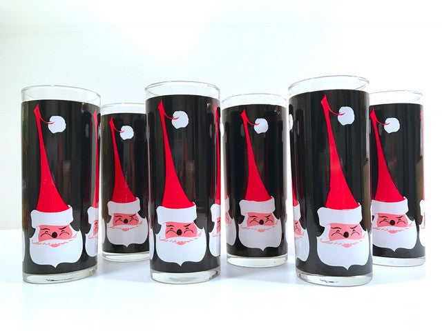 Libbey Santa Glasses (Set of 6)