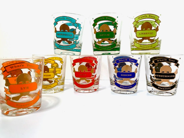 Starlyte Glass What is Your Pleasure Old Fashion Glasses (Set of 8)