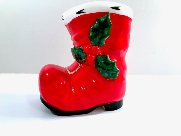 Lefton Santa Boot