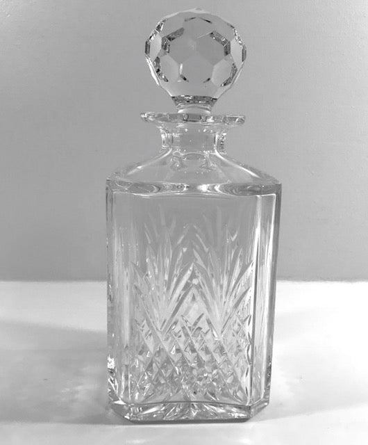 Edinburgh Scotland Shriner's Elegance Crystal Decanter
