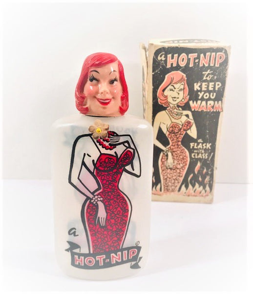 Milbit Female Hot Nip Novelty Flask