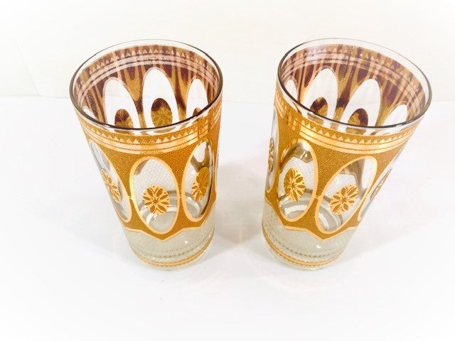Culver Mid-Century Imperial Highball Glasses (Set of 2 )