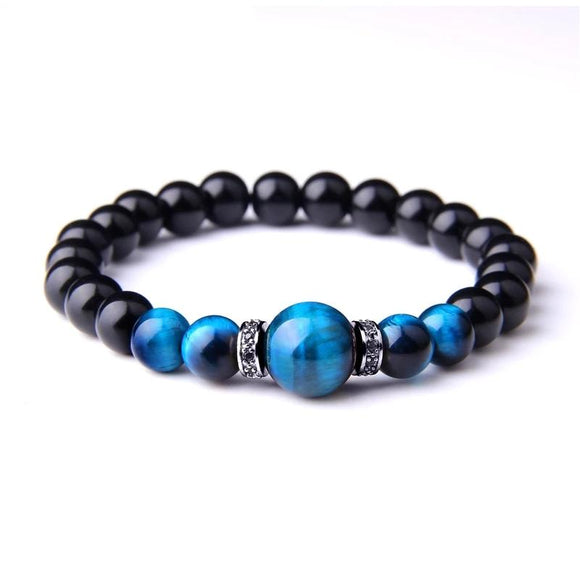 Natural Stone Tiger Eyes Bracelets