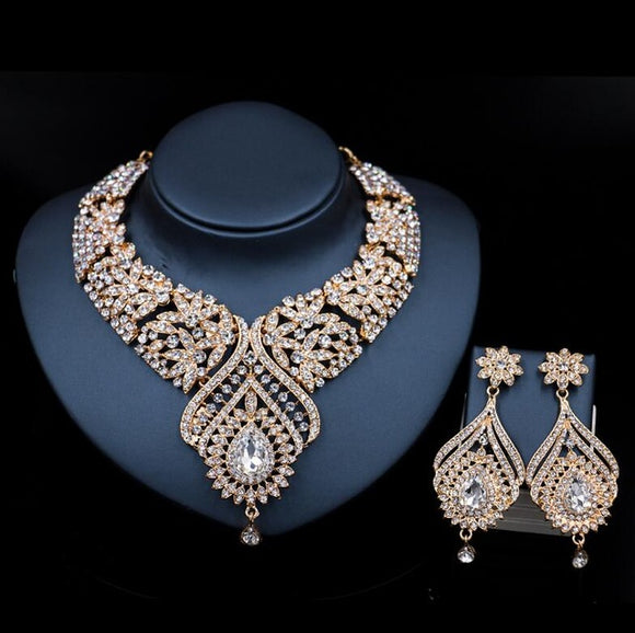 Gold Bridal Jewelry Sets