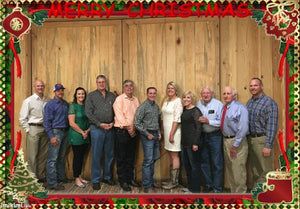 Merry Christmas from the MCFB Board and Insurance Staff at the Red Barn!