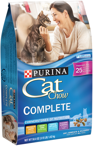 PURINA CAT CHOW COMPLETE DRY FOOD FOR CATS