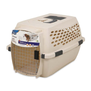 Petmate Vari Dog Kennel Taupe/Black 24in