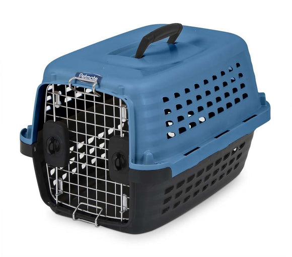 Petmate Compass Dog Kennell Blue 19in