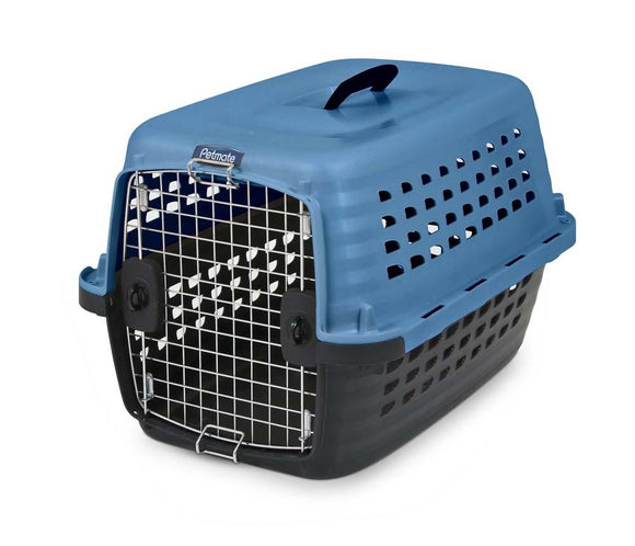 Petmate Compass Dog Kennell Blue 24in
