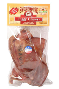 Smokehouse USA Made Pig Ears vinyl bag 6pk