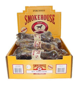 Smokehouse USA Made Porky Bone Individual 1count