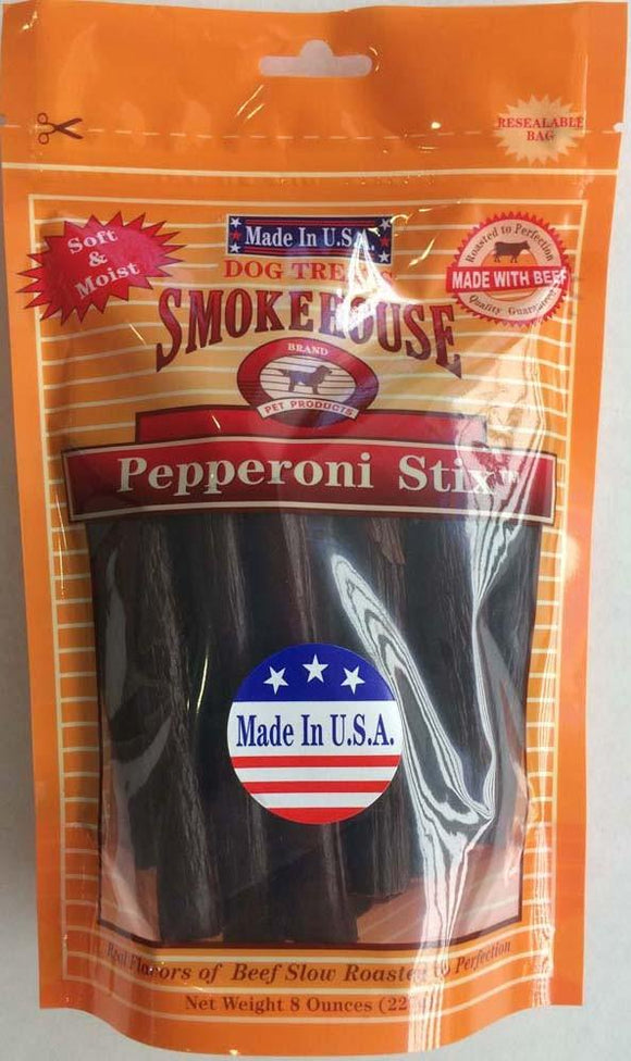 Smokehouse USA Made Pepperoni Stix 8oz