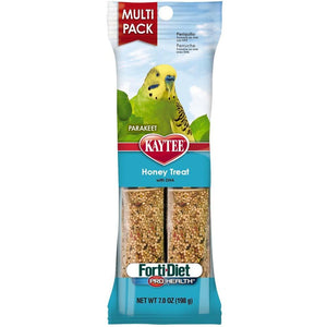Kaytee Forti-Diet Pro Health Parakeet Honey Stick Value 7oz