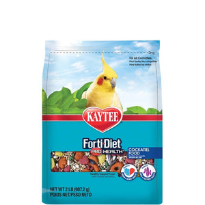 Kaytee Forti-Diet Pro Health Feather Cockatiel Food 2lb