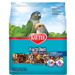 Kaytee Forti-Diet Pro Health Feather Conure/Lovebird Food 4lb
