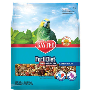 Kaytee Forti-Diet Pro Health Feather Parrot Safflower Food 4lb