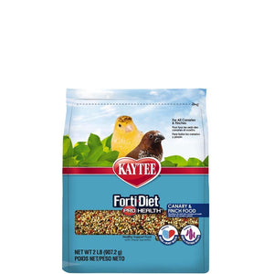 Kaytee Forti-Diet Pro Health Feather Canary/Finch Food 2lbs