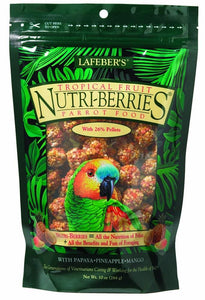 Lafeber Nutri-Berries Tropical Fruit Parrot 10oz