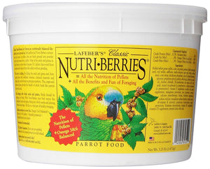 Lafeber Nutri-Berries Tropical Fruit Macaw 3lb